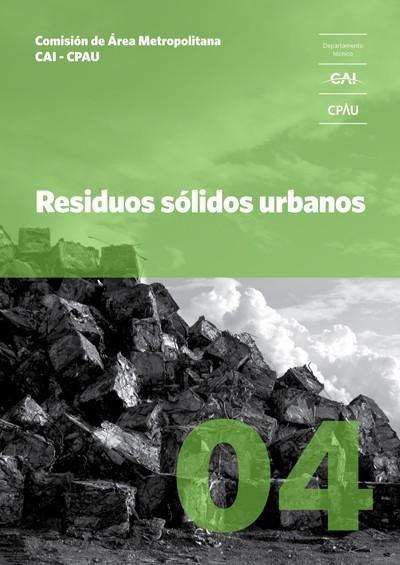 Dossier 04 Residuos sólidos urbanos