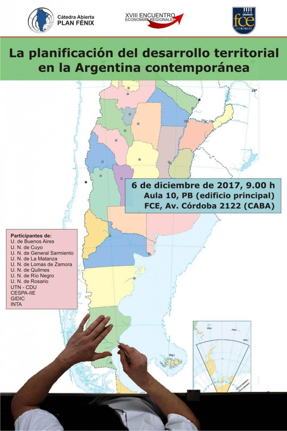 Invitación a asistir al XVII Encuentro de Economìas Regionales del Plan Fènix