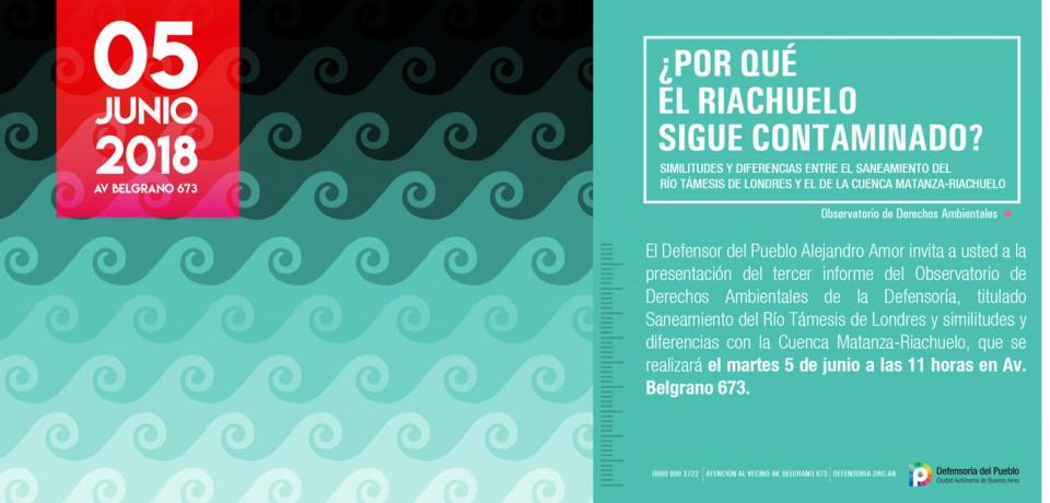 Tercer informe del Observatorio de Derechos Ambientales de la Defensoría: