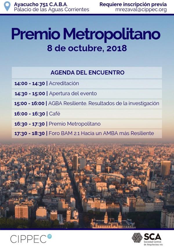 Premio Metropolitano | Foro virtual Hacia un AMBA más resiliente