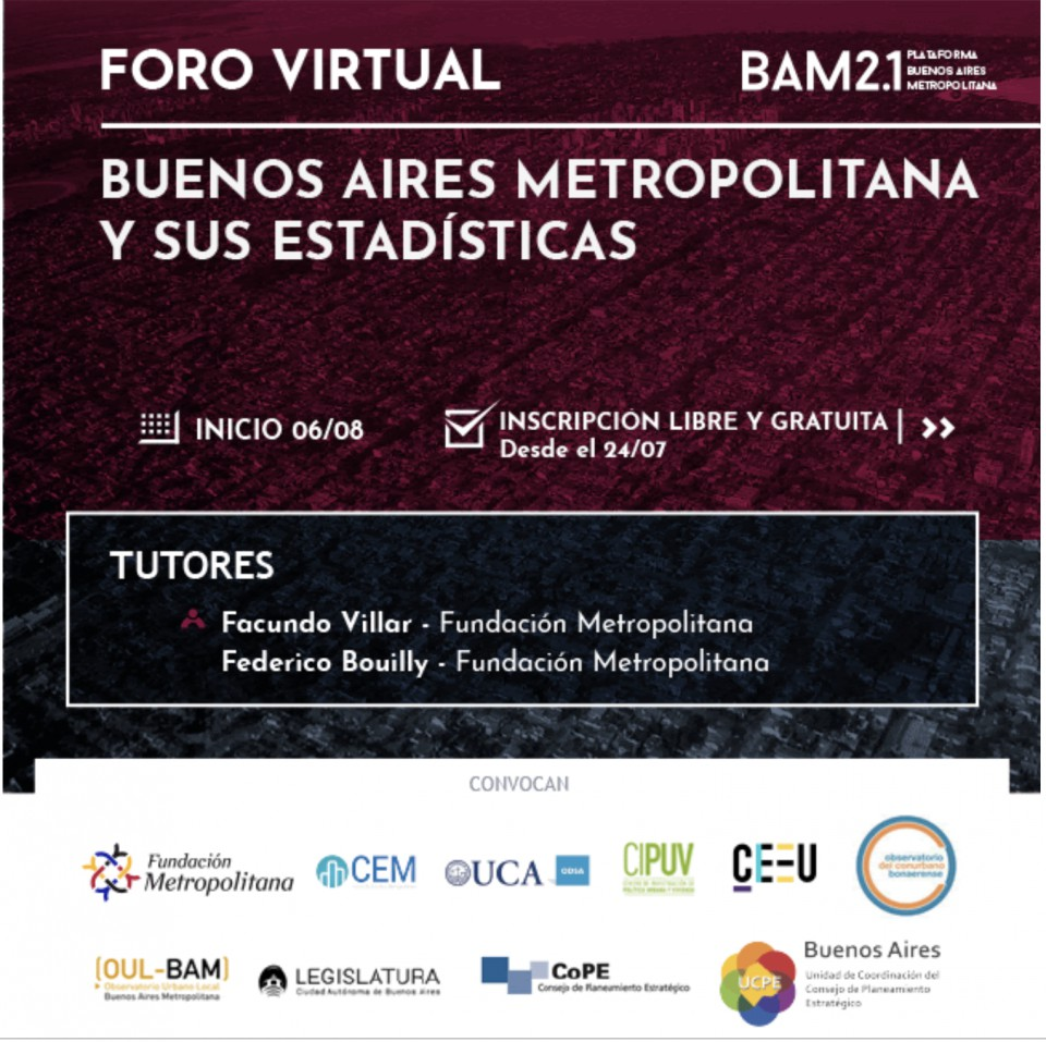 BAM y Estadísticas - Foro Virtual