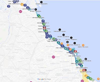2000 - 2020 - Proyectos en debate para la costa metropolitana