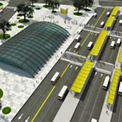 Constitución: Metrobus, trenes y subte, en un único centro de transbordo