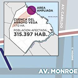 Arroyo Vega: finalizó una primera etapa de obras