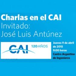 El CAI cumple 120 años - Primera charla