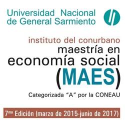 Inscripción abierta a la Maestría en Economía Social.