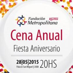Fundación Metropolitana Cena Aniversario15 años