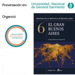 Presentación en la UNGS del libro: El Gran Buenos Aires