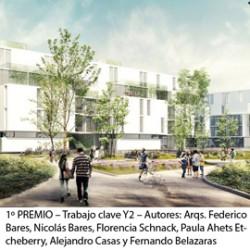 Concurso Nacional de Anteproyectos Viviendas Sociales Villa 20, Comuna 8