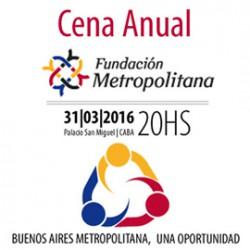 Fundación Metropolitana - CENA ANUAL 2016