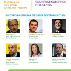 Smart Government 2016 Argentina