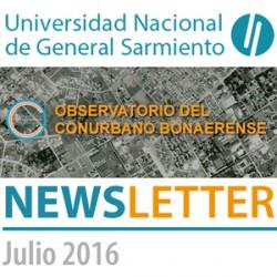 Observatorio del Conurbano NEWSLETTER