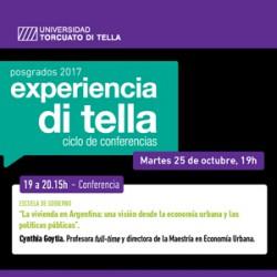 Conferencia La Vivienda en Argentina - Profesora Cynthia Goytia