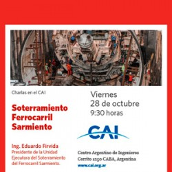 Soterramiento Ferrocarril Sarmiento - Ing. Eduardo Firvida