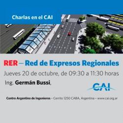 RER - Red de Expresos Regionales charla en el CAI
