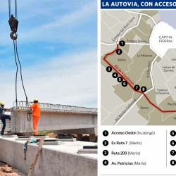 Avanza la autopista que unirá el Oeste del GBA con La Plata sin entrar a Capital