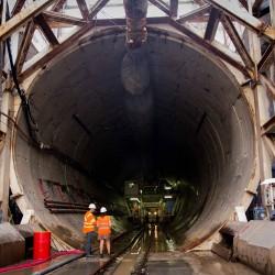 Soterramiento del tren Sarmiento: Viaje al interior de la tierra