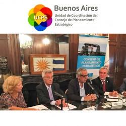 Facundo Suárez Lastra participó de la primera reunión del CoPE
