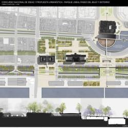 Parque Lineal Paseo del Bajo y entorno: GANADORES. Concurso Nacional de Ideas y Propuesta Urbanística