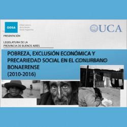 POBREZA Y EXCLUSIÓN SOCIAL- Dirección de Estudios de Políticas Publicas y Legislativas - SECRETARIA LEGISLATIVA
