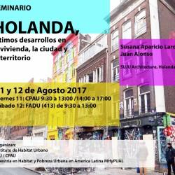 WORKSHOP | HOLANDA, ÚLTIMOS DESARROLLOS EN LA VIVIENDA, LA CIUDAD Y EL TERRITORIO