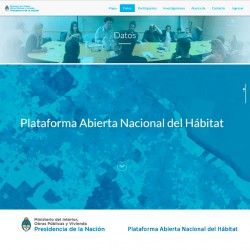 Plataforma Abierta Nacional del Hábitat | Ministerio del Interior | Gobierno Nacional