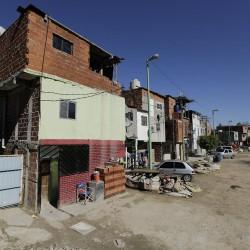 Empiezan a construir viviendas nuevas en Rodrigo Bueno