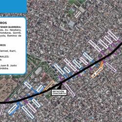 Comienza la obra Viaducto San Martín