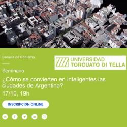 ¿Como se convierten en inteligentes las ciudades de Argentina? Seminario