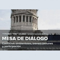 Conflictos ambientales, bienes comunes y participación -Mesa debate