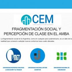 FRAGMENTACIÓN SOCIAL Y PERCEPCIÓN DE CLASE EN EL AMBA