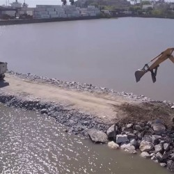 Avanzan las obras para ampliar el Puerto de Buenos Aires