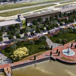 Nuevo plan para Aeroparque: buscan ganarle 19 hectáreas al río para extender la pista y la terminal