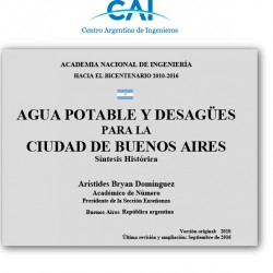 Documento técnico: saneamiento en Buenos Aires - CAI