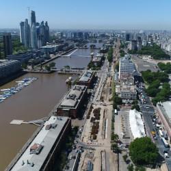 Paseo del Bajo: arranca en un mes la construcción del viaducto elevado