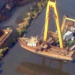 Hay 34 barcos hundidos frente a la ciudad de Buenos Aires: dónde se encuentran
