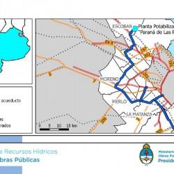 El Plan Nacional de Agua para la Provincia: qué municipios están incluidos en los proyectos