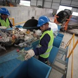 La prueba piloto de la nueva planta para tratar los residuos entra en la recta final