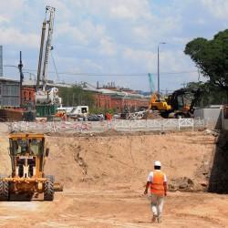 Por la obra del Paseo del Bajo, avenida Huergo será sólo mano al sur