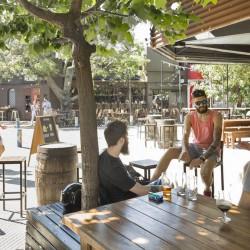 Palermo Hollywood, un rincón con bares, empresas y viviendas nuevas, pero sin verde