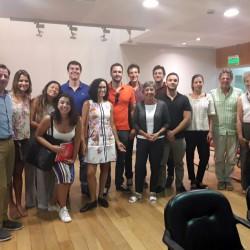 Visita al OM de estudiantes de la Fundación Getulio Vargas (San Pablo, Brasil)