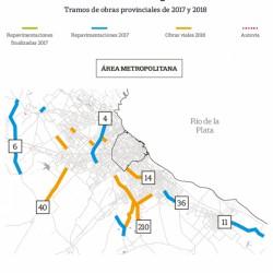 El gobierno de la provincia de Buenos Aires invertirá $11.700 millones en 63 obras viales