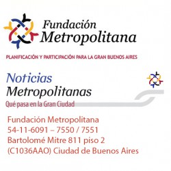 Fundación Metropolitana / Noticias Metropolitanas - 21 de Febrero de 2018