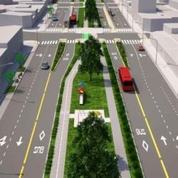 El Metrobus del Oeste atravesará Morón, costará $ 107 millones y tendrá bicisenda