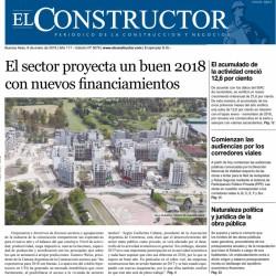 La inversión privada y los anuncios del Gobierno proyectan un buen 2018