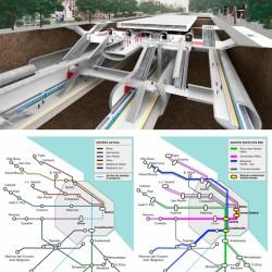 Así es la megaobra de transporte que tendrá su estación central bajo el Obelisco