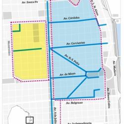 Desde el 15, multarán autos y motos que entren sin permiso a la nueva zona peatonal