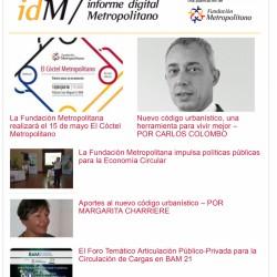 Informe Digital Metropolitano - Mayo 2018