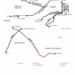 Con cuatro nuevos ramales, van a duplicar los kilómetros del Metrobus en el GBA