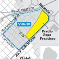 Barrio Papa Francisco: en agosto llegarán las primeras familias desde la villa 20
